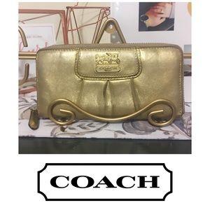 Coach Madison Zip Around Wallet